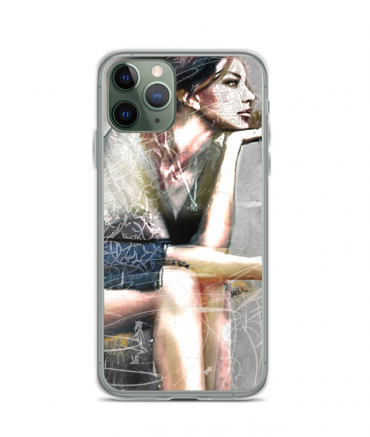 Guitar & Lady Phone Case