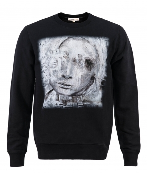 PAINING OF SILVER LADY Sweatshirts