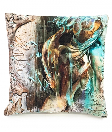 "Cushion ""CONSCIENCE"""