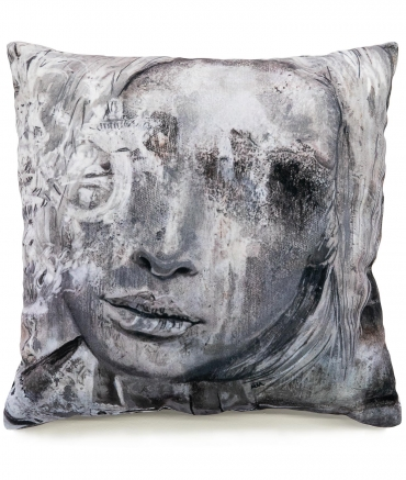 "Cushion ""SILVER LADY"""