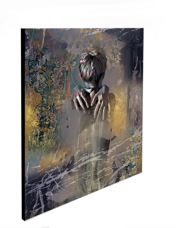 """Limited Edition In Hands Print size: 30"""" x 30"""""""