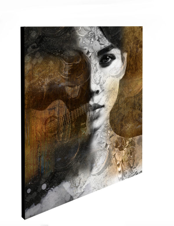 "Limited Edition Gypsy Girl Print size: 30"" x 30"""