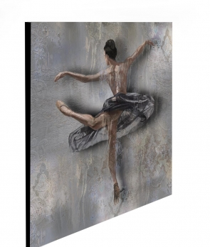 "Limited Edition Ballet Dance Print size: 30"" x 30"""