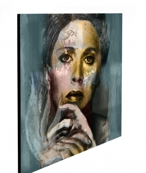 """Limited Edition Thinking size: 30"""" x 30"""""""
