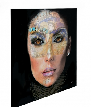 """Limited Edition Woman Life size: 30"""" x 30"""""""