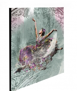 "Limited Edition Dream Dancing Print size: 30"" x 30"""