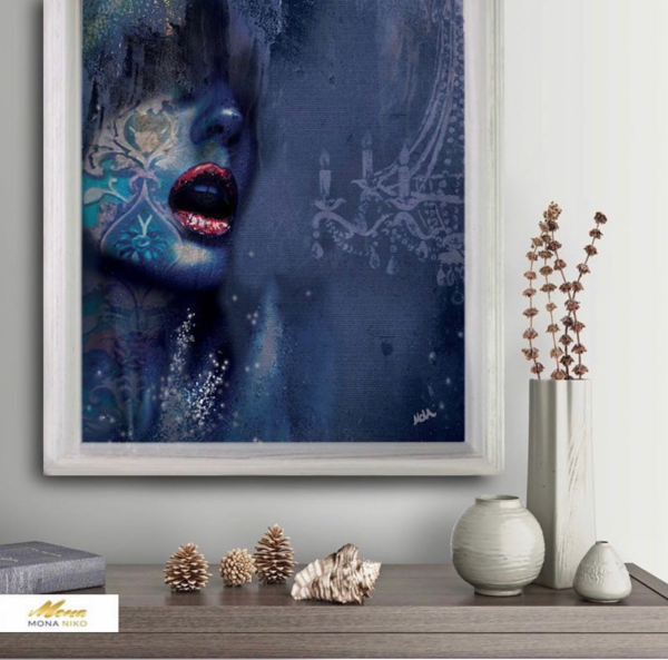 """Limited Edition Feeling Print size: 30"""" x 30"""""""