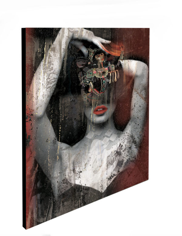 """Limited Edition Queen Print size: 30"""" x 30"""""""