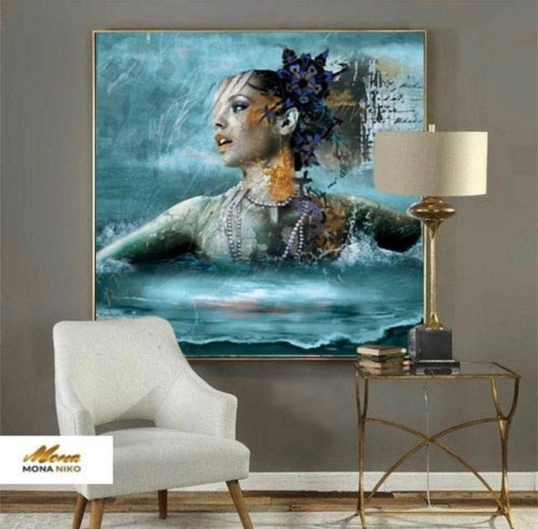 """Limited Edition Deep in Love Print size: 30"""" x 30"""""""