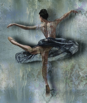 BALLET DANCE Canvas Print