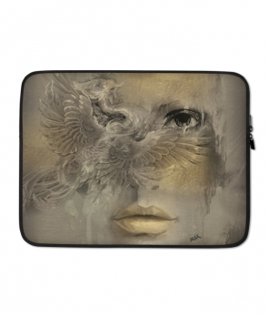 The Bird of Luck Laptop Case