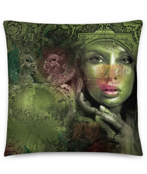 "Cushion ""Green Beauty"""