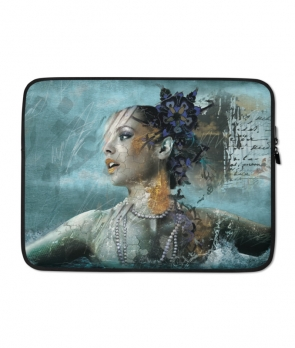 Deep in Love Laptop Case