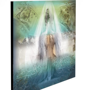 """Limited Edition Bride Angel Print size: 30"""" x 30"""""""